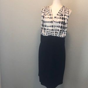 Alfani Dress Woman 24W Polka Dot Pin Up